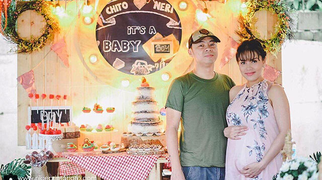 Top of the Morning: In Photos: Neri and Chito Miranda's Rustic Baby Shower