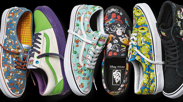 Look! Woody and Buzz LightYear Sneakers Are Coming!