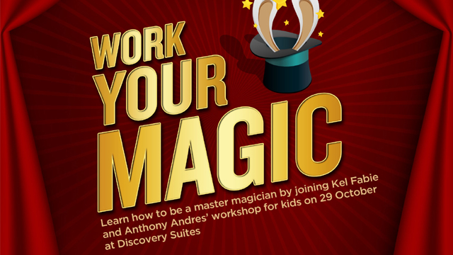 Learn How to Be a Magician at Discovery Suites!