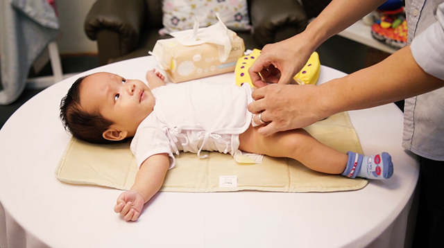 WATCH: Learn How to Change Your Baby's Diaper