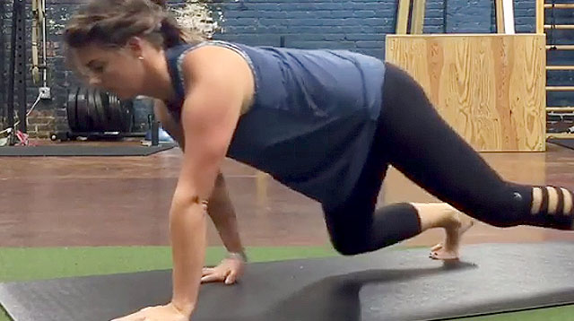 New Workout Trend! Get Fit by Crawling Like Your Baby