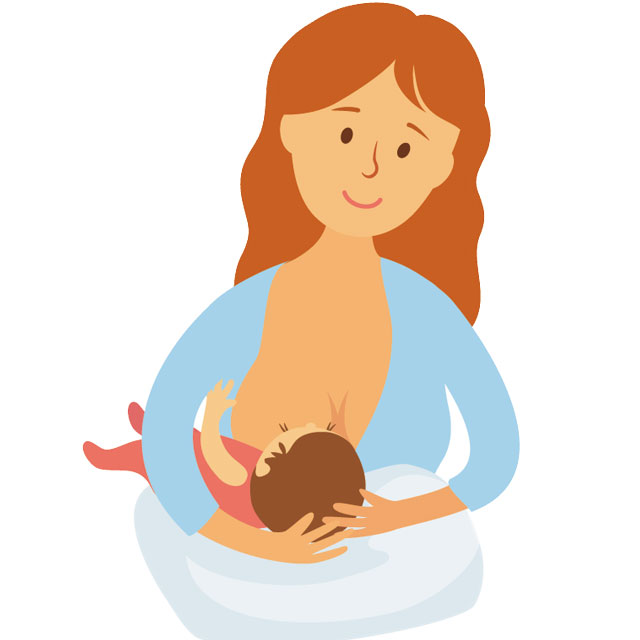 breastfeeding latch position football