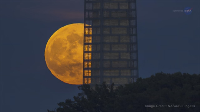 Look Up! There's a Supermoon on Monday, November 14