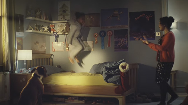Christmas Ad About a Child and Her Dog Is Not What You'd Expect