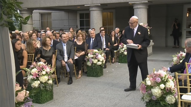Awww! A Bride Asks Her Grandfather to Be Her 'Flower Grandpa'