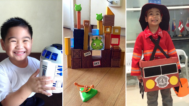 Pinay Mom Makes Her Own Angry Birds Toy Set to Save Money