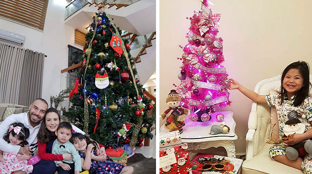 14 Celebrity Moms and Their Christmas Trees (2016 Edition)