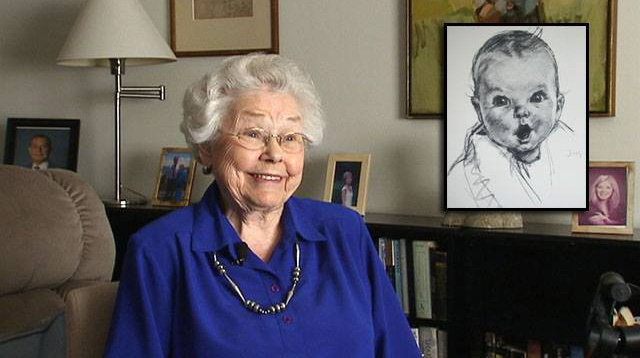 Wow! The Gerber Baby Is Now 90 Years Old