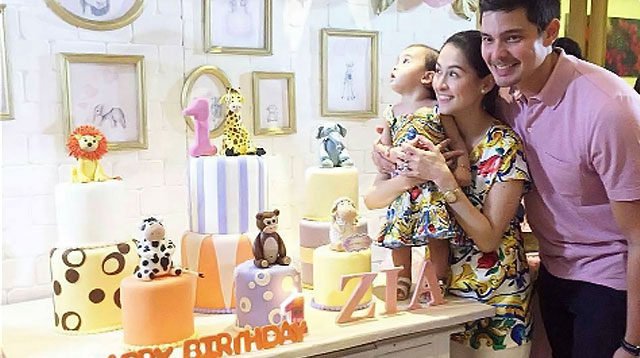 Top of the Morning: Look: More Parties for Baby Zia's Birthday!