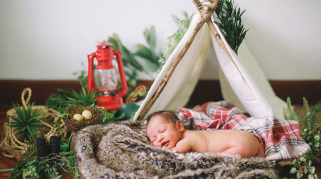 Top of the Morning: Look: Baby Pablo's Newborn Shoot!