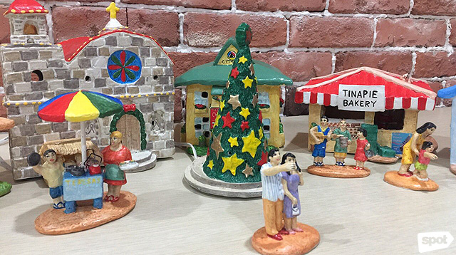 You Haven't Seen A Christmas Village Decor As Pinoy As This One