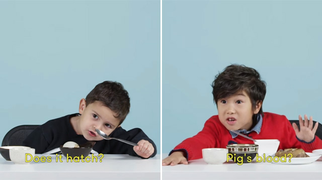 WATCH: American Kids Try Filipino Food Like Balut and Taho!