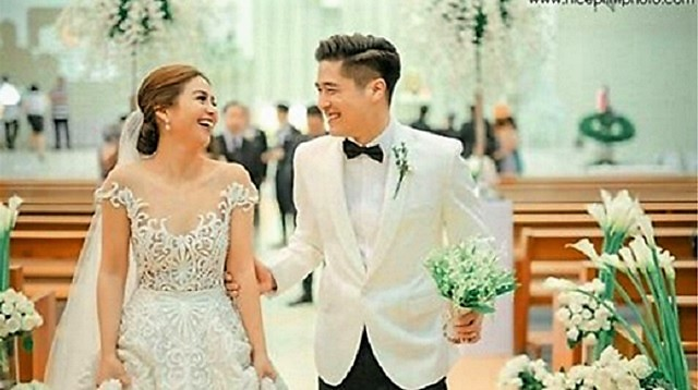 In Photos: Kaye Abad and Paul Jake Castillo's Wedding