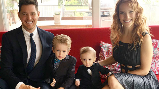 Top of the Morning: Michael Bublé's 3-year-old Son Completes First Round of Cancer Treatments