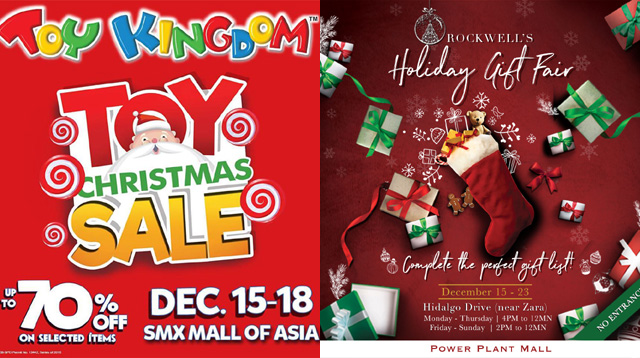 Last Minute Shopping! A List of Holiday Sales and Bazaars This Weekend