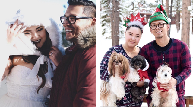 Alyanna Martinez Shares Adorable Family Portrait After Winter Wedding