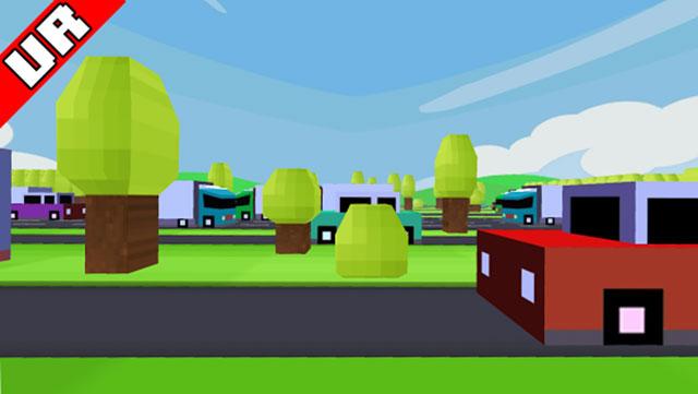 VR-Crossy Road