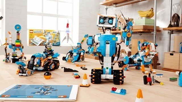 New Lego Line Teaches Kids How to Make Robots Move