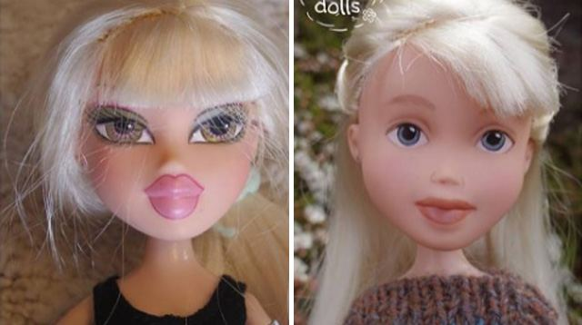 LOOK! This Mom Gives Fashion Dolls a 'Makeunder'