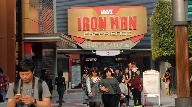FIRST LOOK: Hong Kong Disneyland's Iron Man Experience