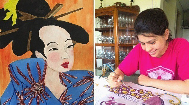Talented 19-Year-Old With Autism Has Her Own Solo Exhibit