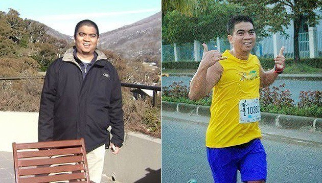 This Dad Went From Weighing 175 Pounds to Completing 6 Duathlons in One Year