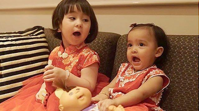 LOOK: Two of Today's Cutest Celebri-Tots Have a Playdate!