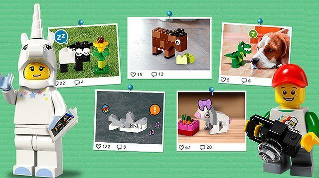 Lego Introduces 'Instagram-type' Social Media App for Kids
