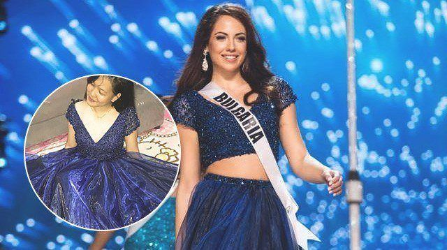 Daughter of Solo Mom Receives Miss Bulgaria's Gown for Prom