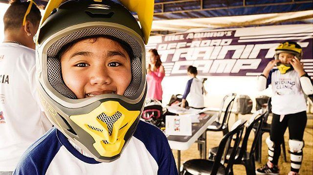 LOOK: Yohan Goes Motocross Racing, Like Dad Ryan Agoncillo
