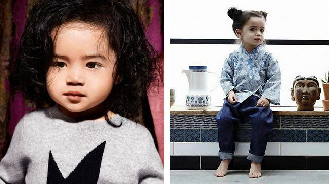 Toddler is 1st Filipino to Model for British Brand Burberry!
