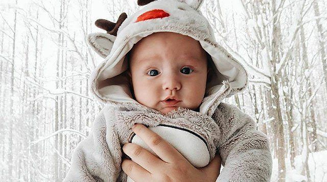 LOOK: Too-Cute Photos of Georgina Wilson's Baby Archie!