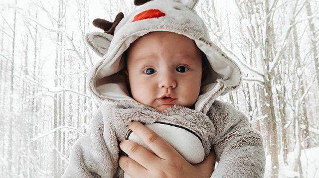 LOOK: Too-Cute Photos of Georgina Wilson's Baby Archie!