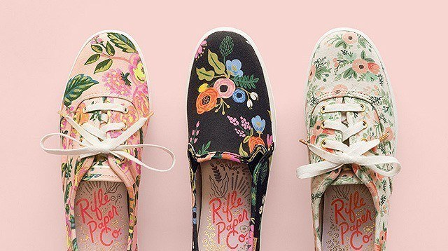 You Have to See All of the Rifle Paper Co. x Keds Sneakers