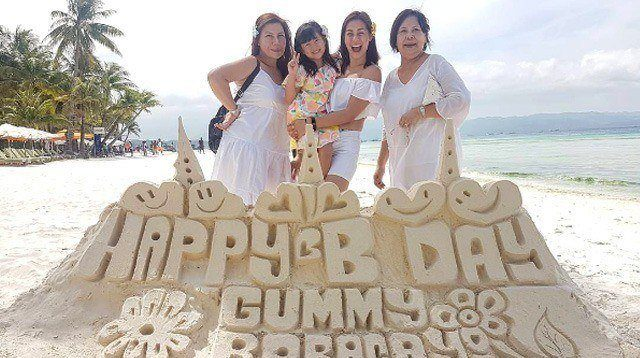 Gummy Makes Mom Bettina Carlos Cry on her 6th Birthday