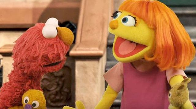 WATCH: First Muppet With Autism Joins Sesame Street on TV