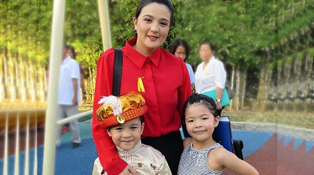Sunshine Dizon and Estranged Husband Reunite For Kids' Moving-up Day