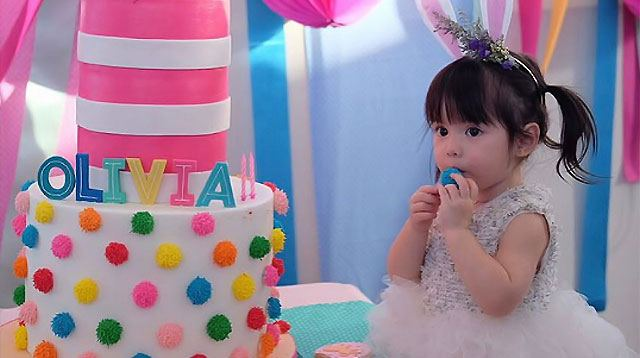 In Photos: Andi Manzano's Daughter Olivia Turns Two!