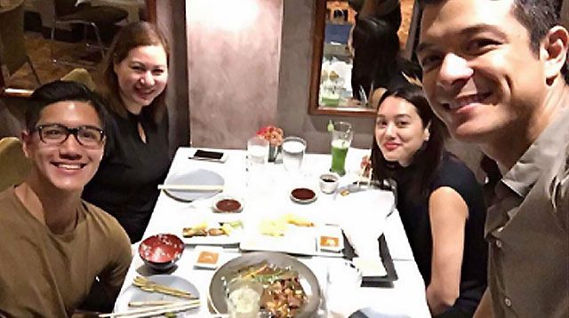LOOK: Everybody Gets Along in Jericho Rosales's Modern Family!