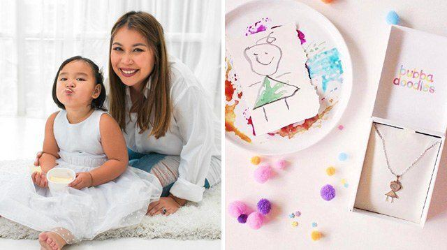 Pinay Mom Turns Your Child's Drawings Into Beautiful Necklaces!