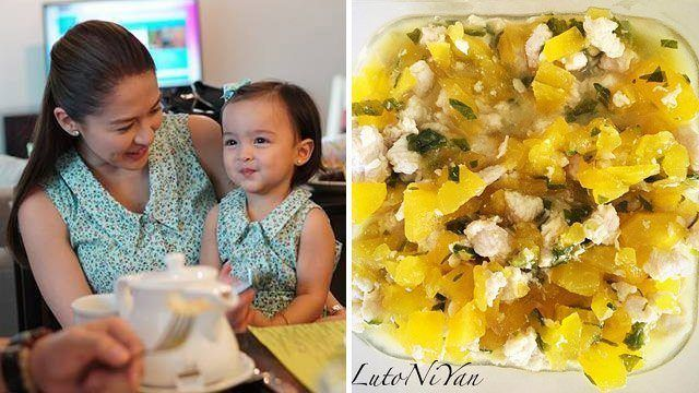 Check out these baby food recipes by marian jennica and more sp marian rivera shared a simple recipe she loves to cook for 1 year old cutie baby zia marian posts a lot of her food creations on an instagram forumfinder Image collections