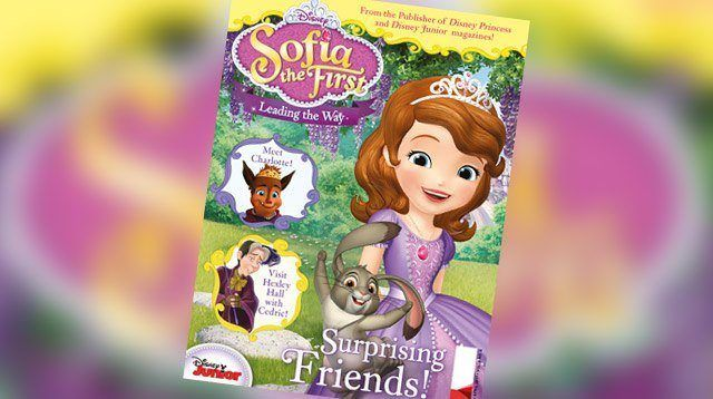 SP Treat: A Printable Activity Page from Sofia the First Magazine!