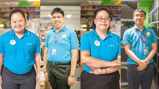 WATCH: 'Hi, I'm a PWD Employee. May I Help You?'