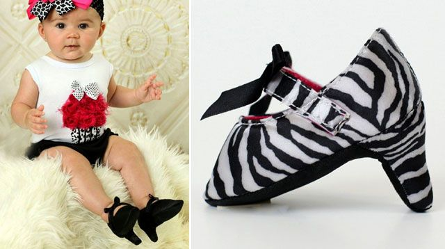 Stilettos and High Heels For Babies: Yay or Nay?