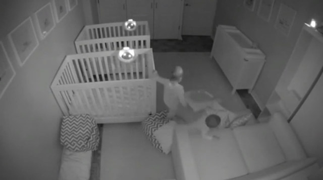 WATCH: This is What 2-Year-Old Twins Get Up To While Their Parents Sleep