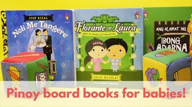 WATCH: These Pinoy Books Can Help Your Baby Learn Shapes, Colors, and More