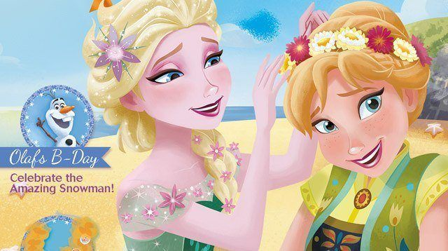 SP Treat: A Printable Activity Page for Your Little 'Frozen' Fan