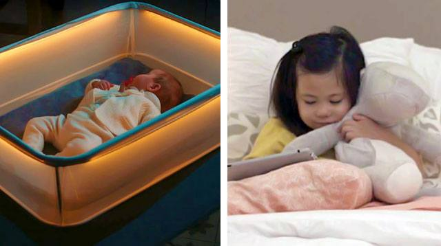 Stuffed Toy That Hugs Back? Crib That Mimics Car Rides? We Want!