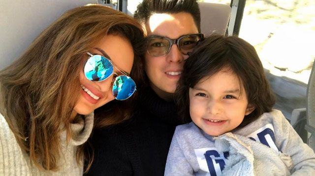 LOOK: Sarah Lahbati, Richard Gutierrez, and Zion Visit Europe!
