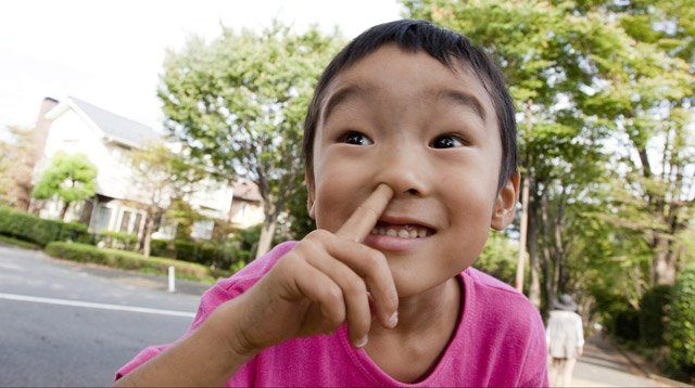 Ack! This Study Says a Child Who Picks His Nose Is a Good Thing